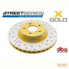 Тормозной диск DBA X GOLD 2702X Lexus RX 330/350 03-> передний