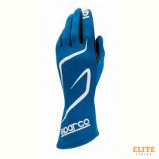 Перчатки для автоспорта SPARCO Land RG-3.1, FIA, синий, размер 09, 00130809AZ